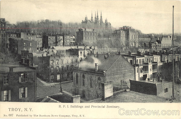R.P.I. Buildings And Provincial Seminary