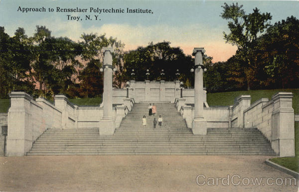 Approach To Rensselaer Polytechnic Institute