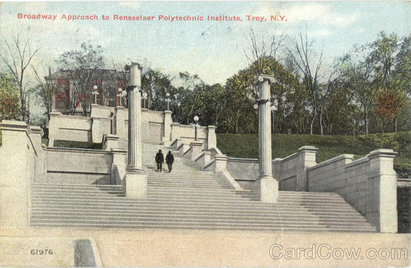 Broadway Approach To Rensselaer Polytechnic Institute