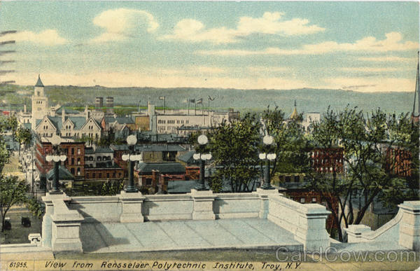 View From Rensselaer Polytechnic Institute