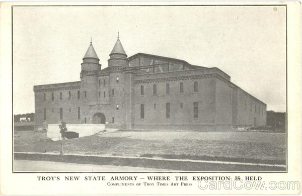 Troy's New State Armory