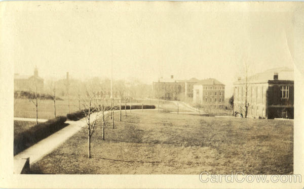 Ricketts, Gym & Field in Spring