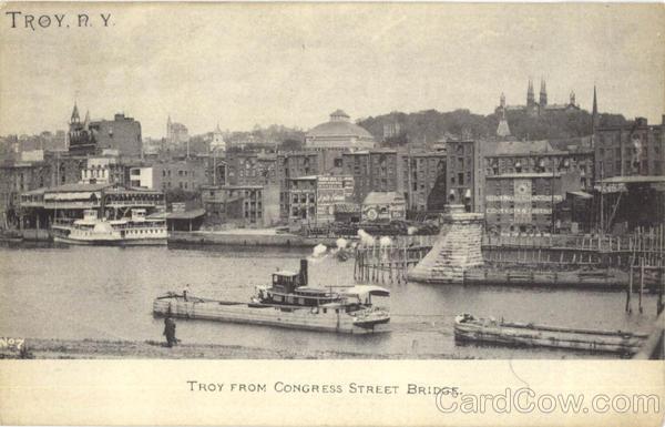 Troy From Congress Street Bridge