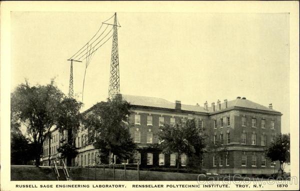 Russell Sage Engineering Laboratory Radio Antennas