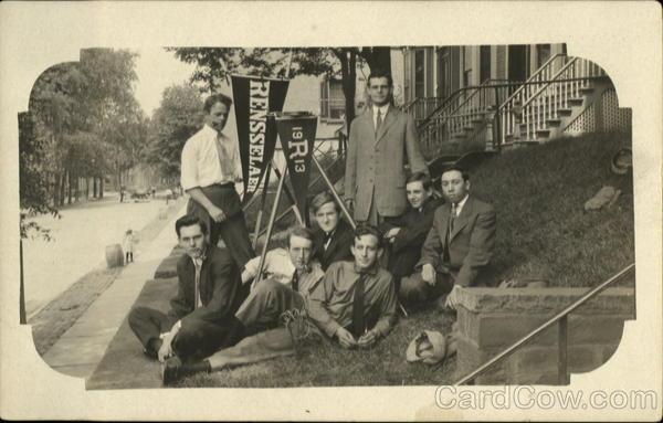 1913 Group of Rensselaer Students