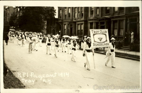 RPI Pageant June 1914 Troy Club