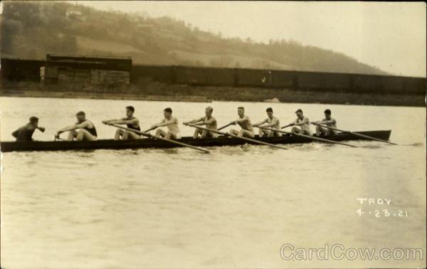 RPI Crew Rowing 4/23/1921