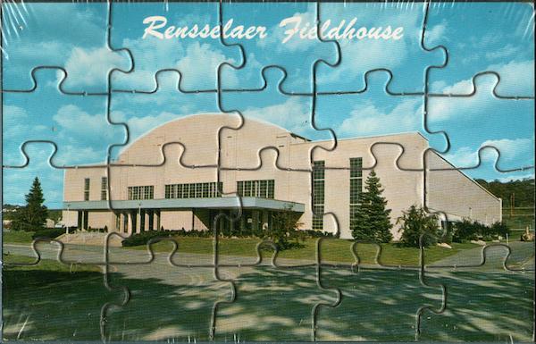 RPI Fieldhouse Puzzle Card