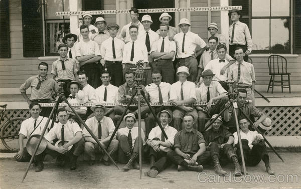 1914 RPI Students Surveyors
