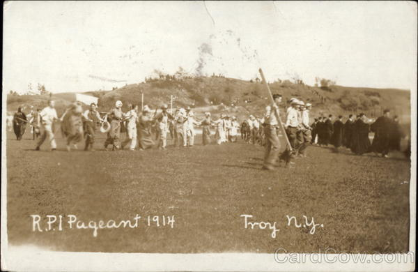 RPI Pageant 1914