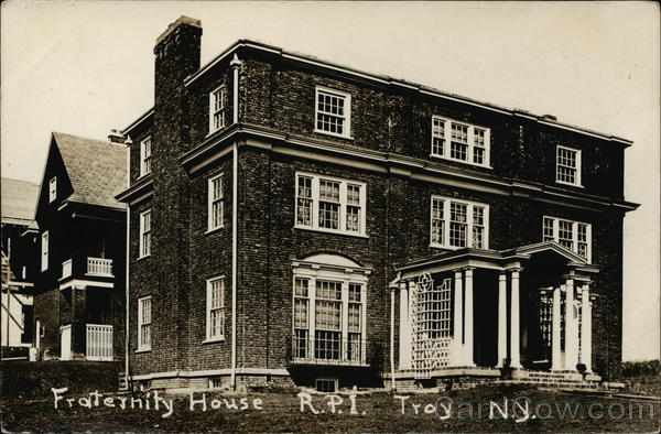 RPI Chi Phi Fraternity House, 15th Street