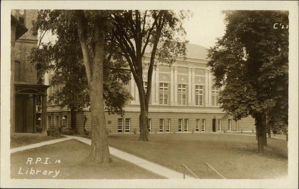 R.P.I. Library (Amos Eaton Hall)