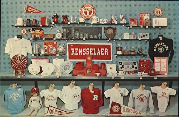 Rensselaer Union Bookstore Display, Circa 1960
