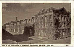 Some Of The Dormitories At Rensselaer Polytechnic Institute