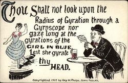 Thou Shalt not Look Upon the Radius of Gyration