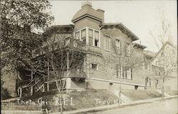 Theta Chi Fraternity House, RPI