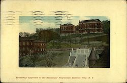 Broadway Approach to the Rensselaer Polytechnic Institute
