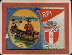 RPI Murad Cigarette Card College Series 51-75