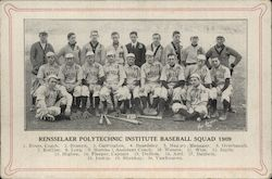 1909 RPI Baseball Team