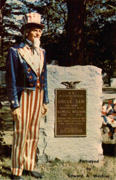 Home of UNCLE SAM, Oakwood Cemetery