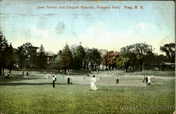 Lawn Tennis And Croquet Grounds, Prospect Park