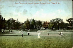Lawn Tennis And Croquet Grounds, Prospect Park
