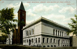 Hart Memorial Library And Second St. Presbyterian Church