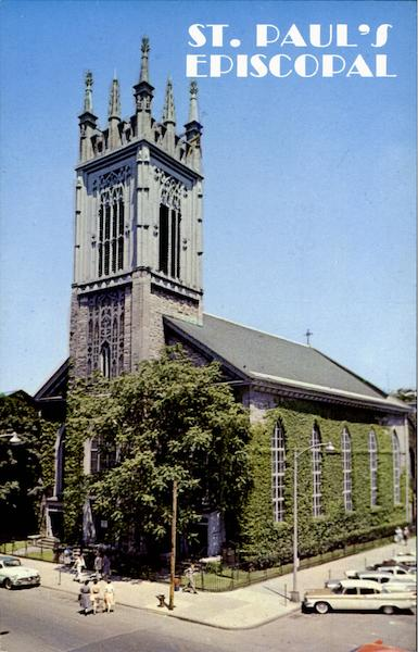St. Paul's Episcopal Church, State And Third Streets