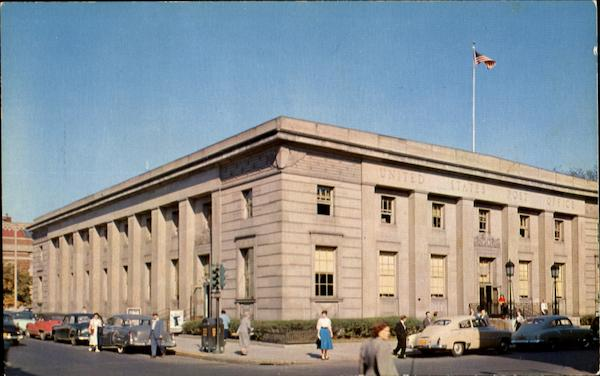 U. S. Post Office, Broadway and Fourth Streets