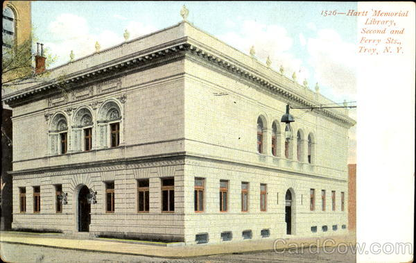 Hartt Memorial Library, Second And Ferry Sts.