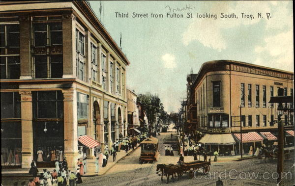 Third Street From Fulton St. Looking South