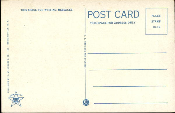 Back of Card