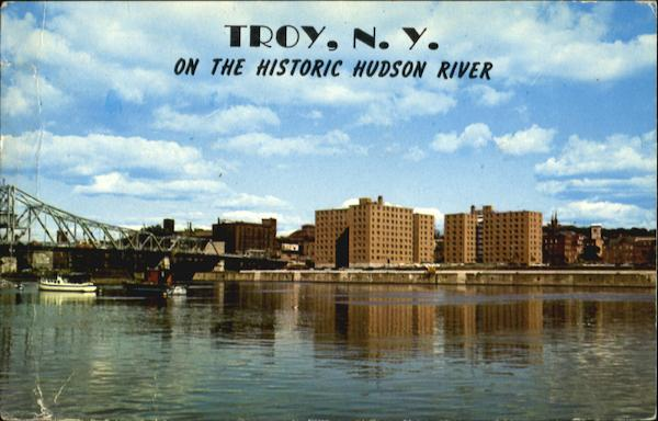 Troy, NY on the historic hudson river