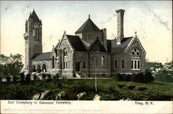 Earl Crematory in Oakwood Cemetery