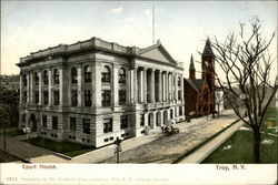 Court House. Troy, N. Y