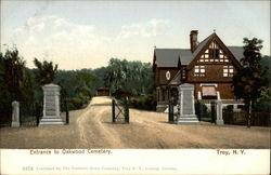 Entrance to Oakwood Cemetery