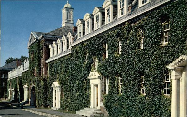 Dormitories on the Quadrangle