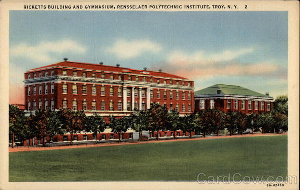 Ricketts Building and Gymnasium, Rensselaer Poytechnic Institute