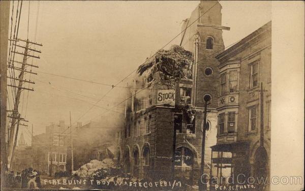 Fire Ruins Troy Waste Co. Feb 1 / 07