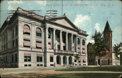 Court House & 2nd St. Presbyterian Church