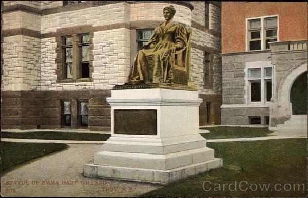 Statue of Emma Hart Willard