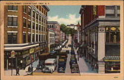 Fulton Street, Looking East