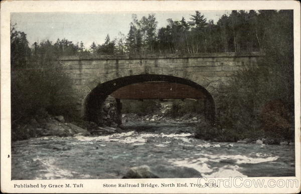 Stone Railroad Bridge, North End