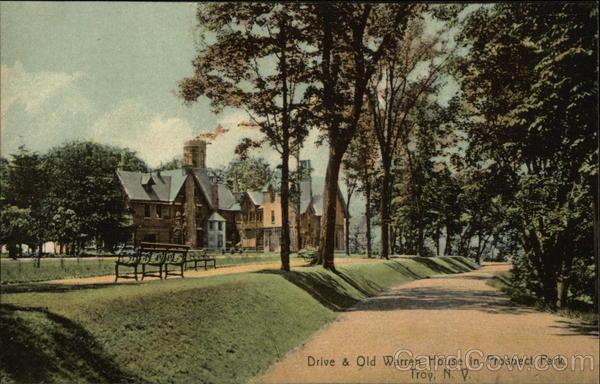 Drive & Old Warren House in Prospect Park