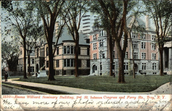Emma Williard Seminary Building, 2nd St. Between Congress and Ferry Sts