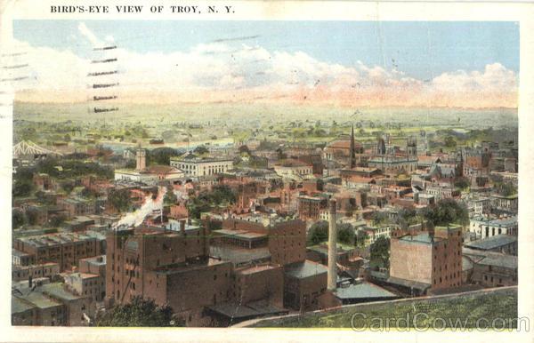 Bird's Eye View Of Troy