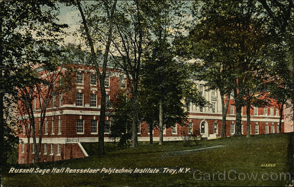 Russell Sage Hall Rensselaer Polytechnic