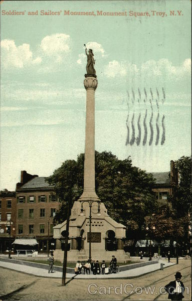 Soldiers and Sailors Monument, Monument Square