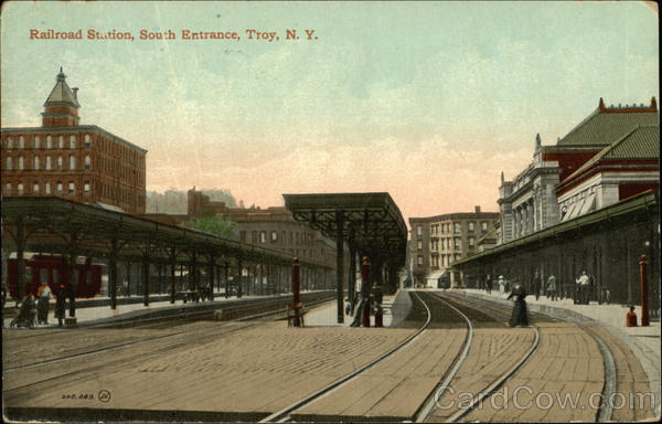 Railroad Station, South Entrance