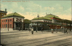 Union Depot, Looking North